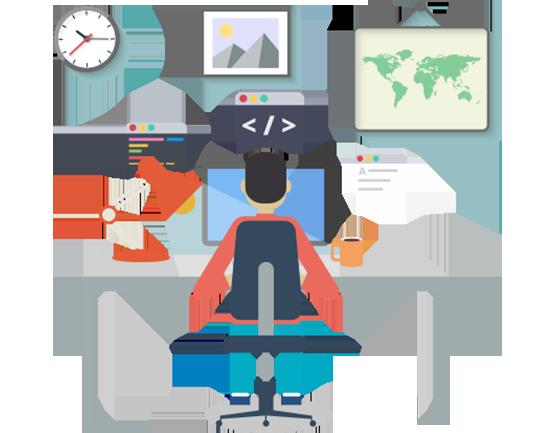 royalty free stock Web development clipart. Professional custom website services