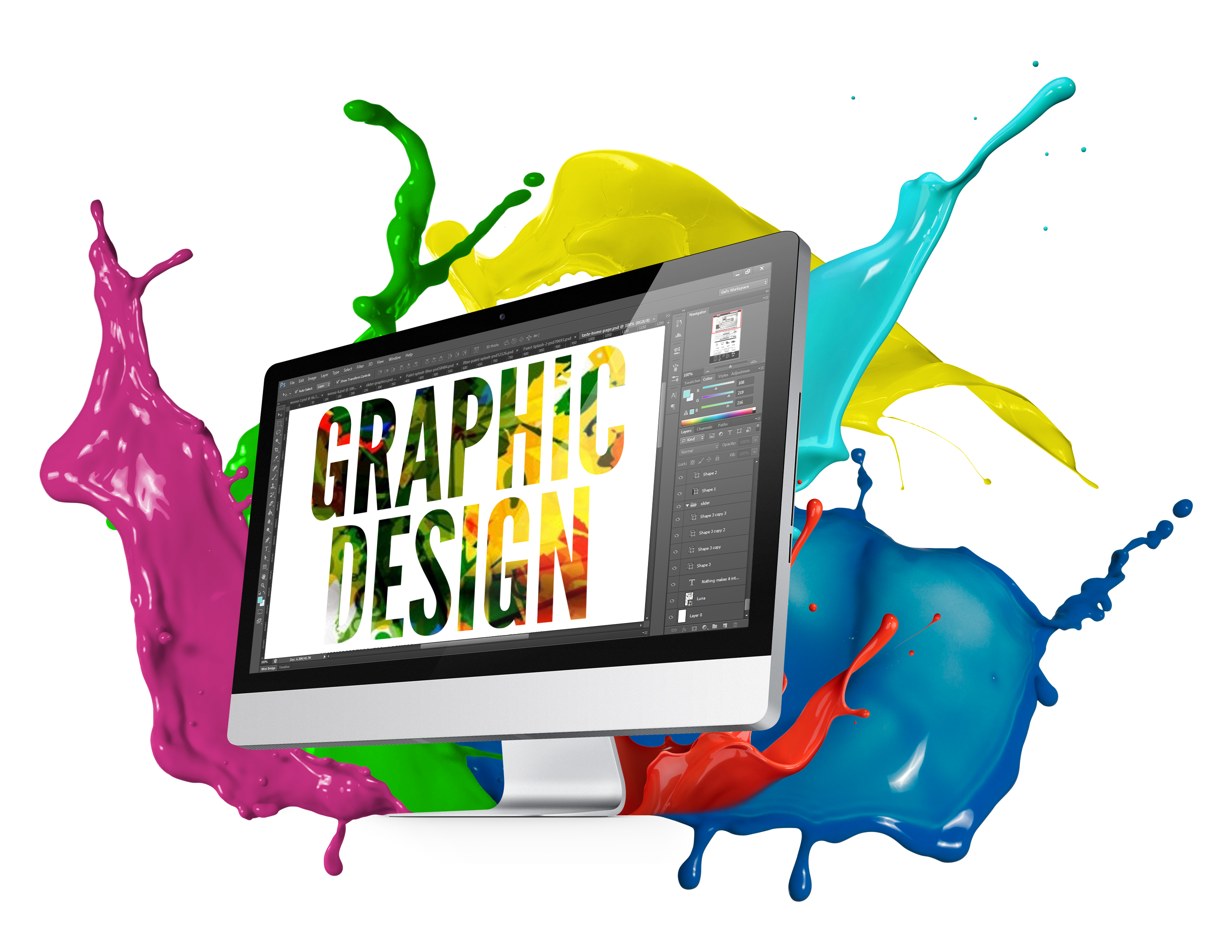 picture freeuse library Graphics designing bluetech. Vector computer graphic designer