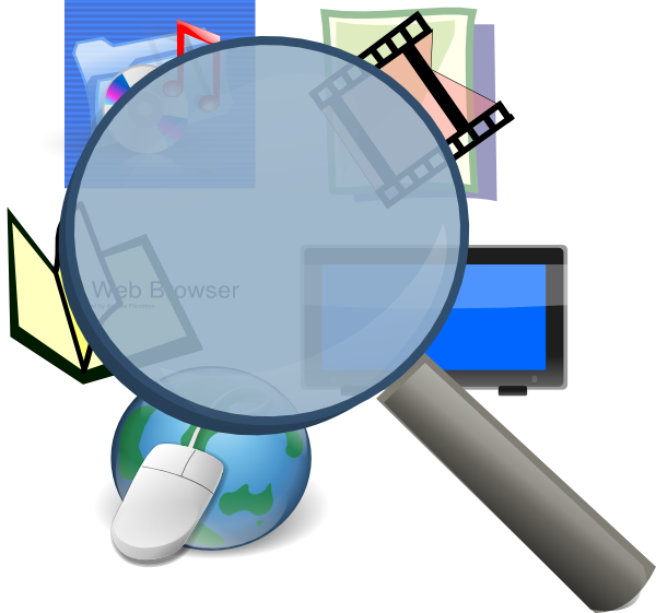 svg stock Media clipart information literacy. Detective clip art at.