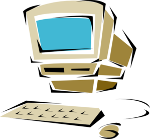 svg free stock Old at clker com. Vector computer clip art