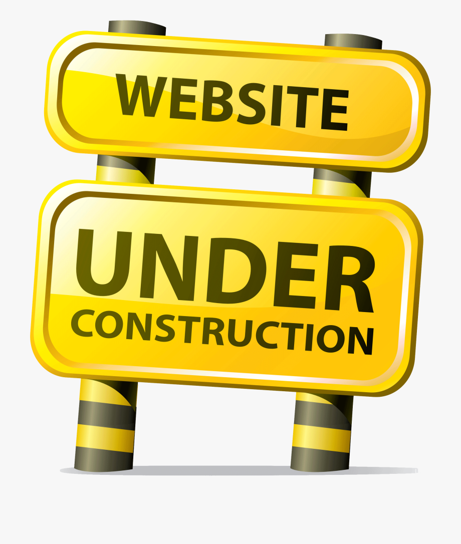 png black and white library Website under construction clipart. Png .