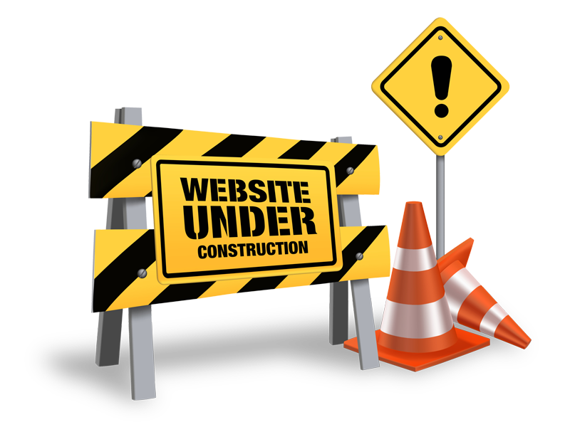 clip black and white Website under construction clipart. Underconstruction png .