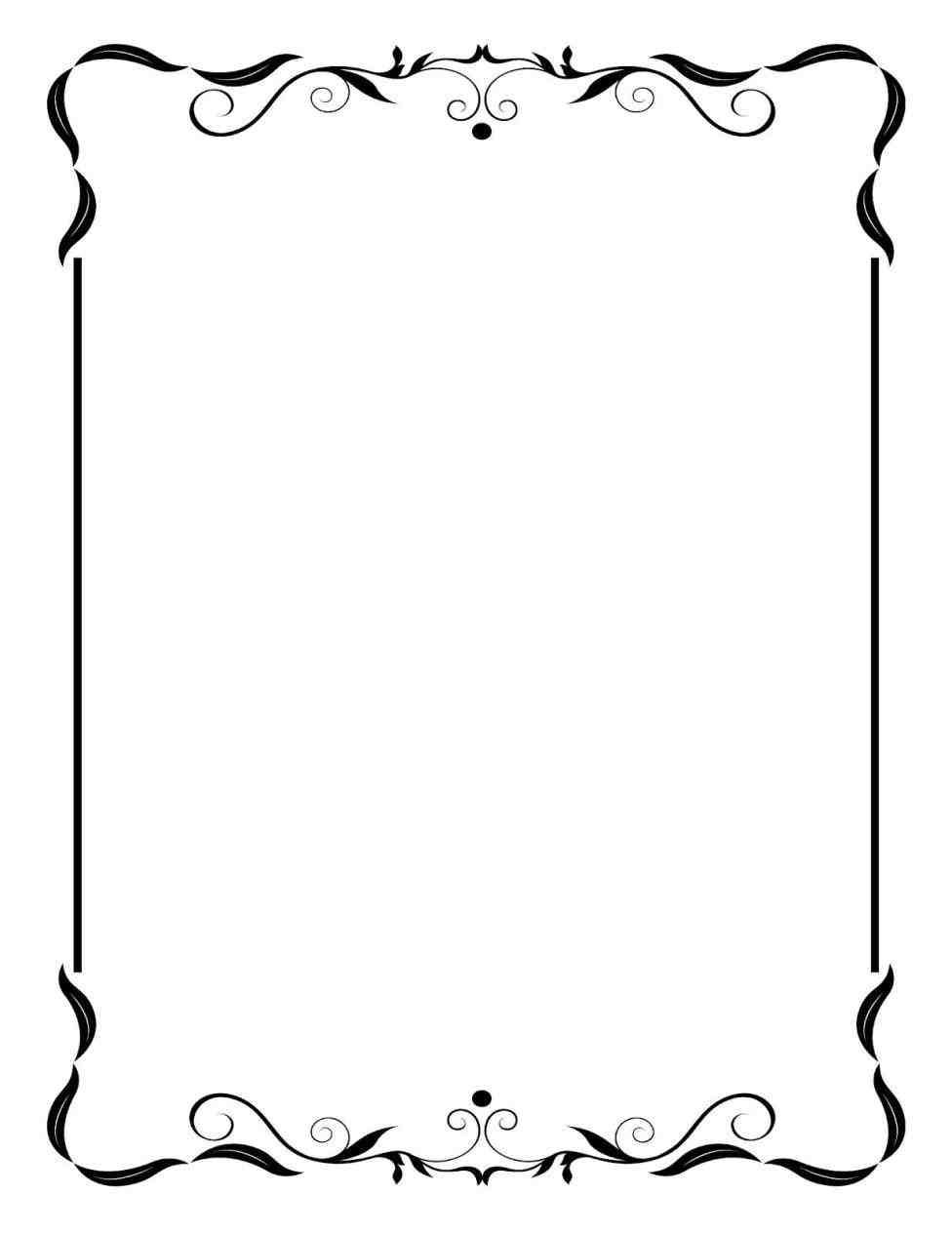 picture transparent stock Vintage border png weddings. Wedding borders clipart