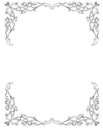 clip art Wedding borders clipart. Invitation clip art free