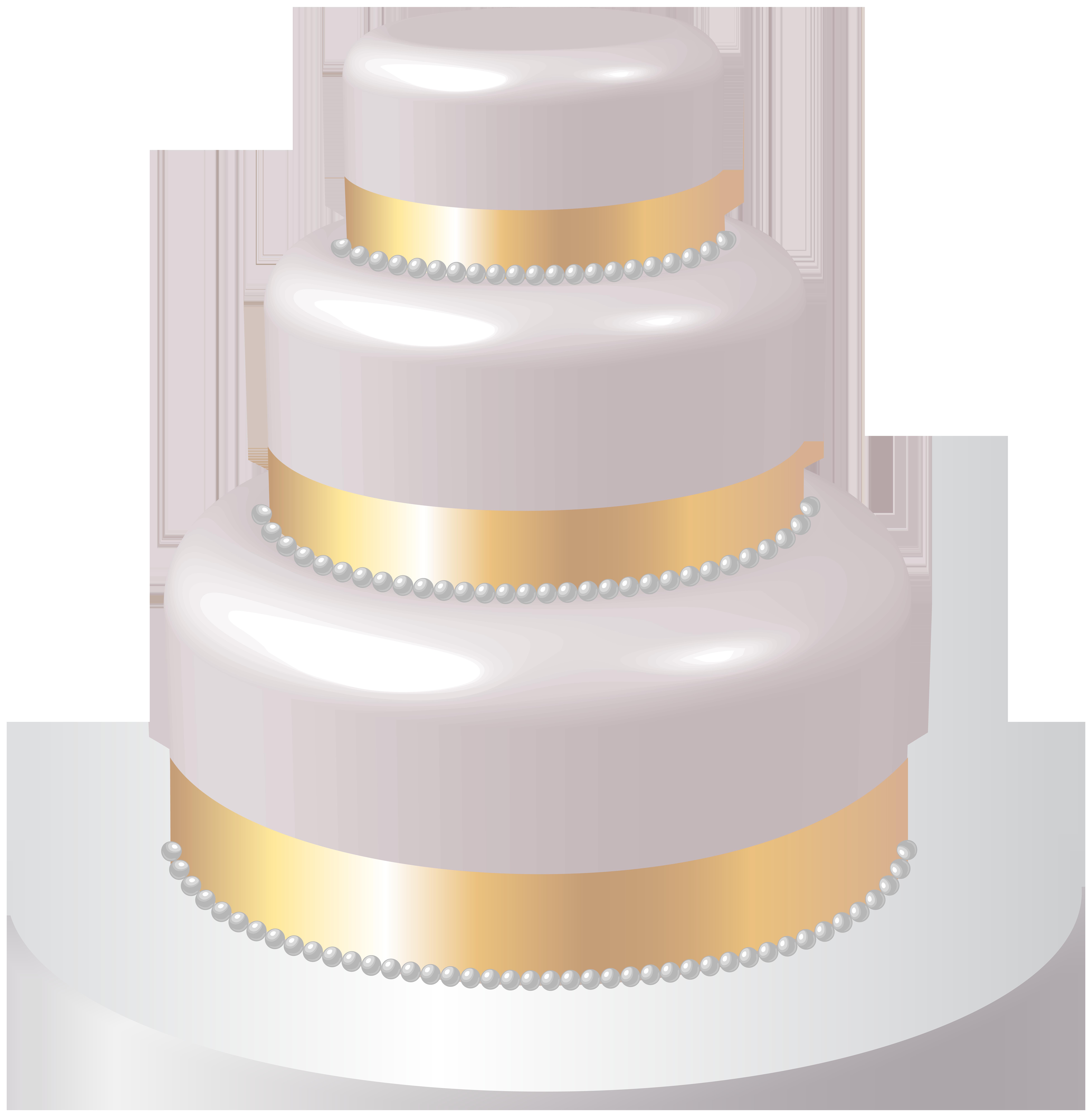 vector transparent Wedding cake clipart. Png clip art image