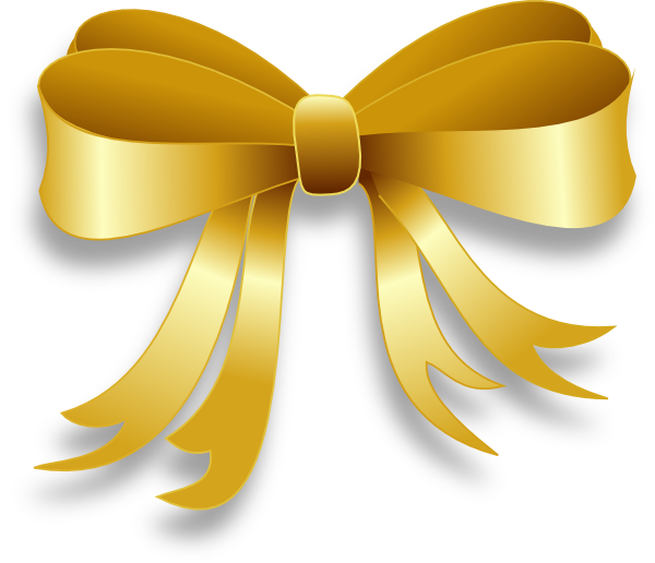 png free library Gold Ribbon Clip Art at Clker