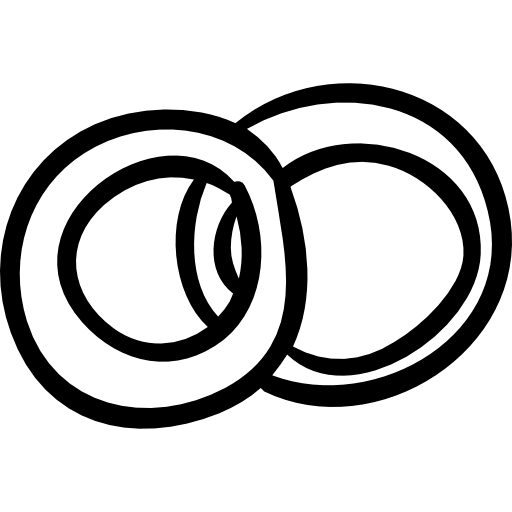 transparent library Wedding rings black and white clipart. Union lovers infinite marriage
