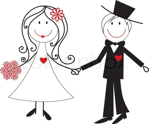 image library In the clipart wedding. Free clip art pictures