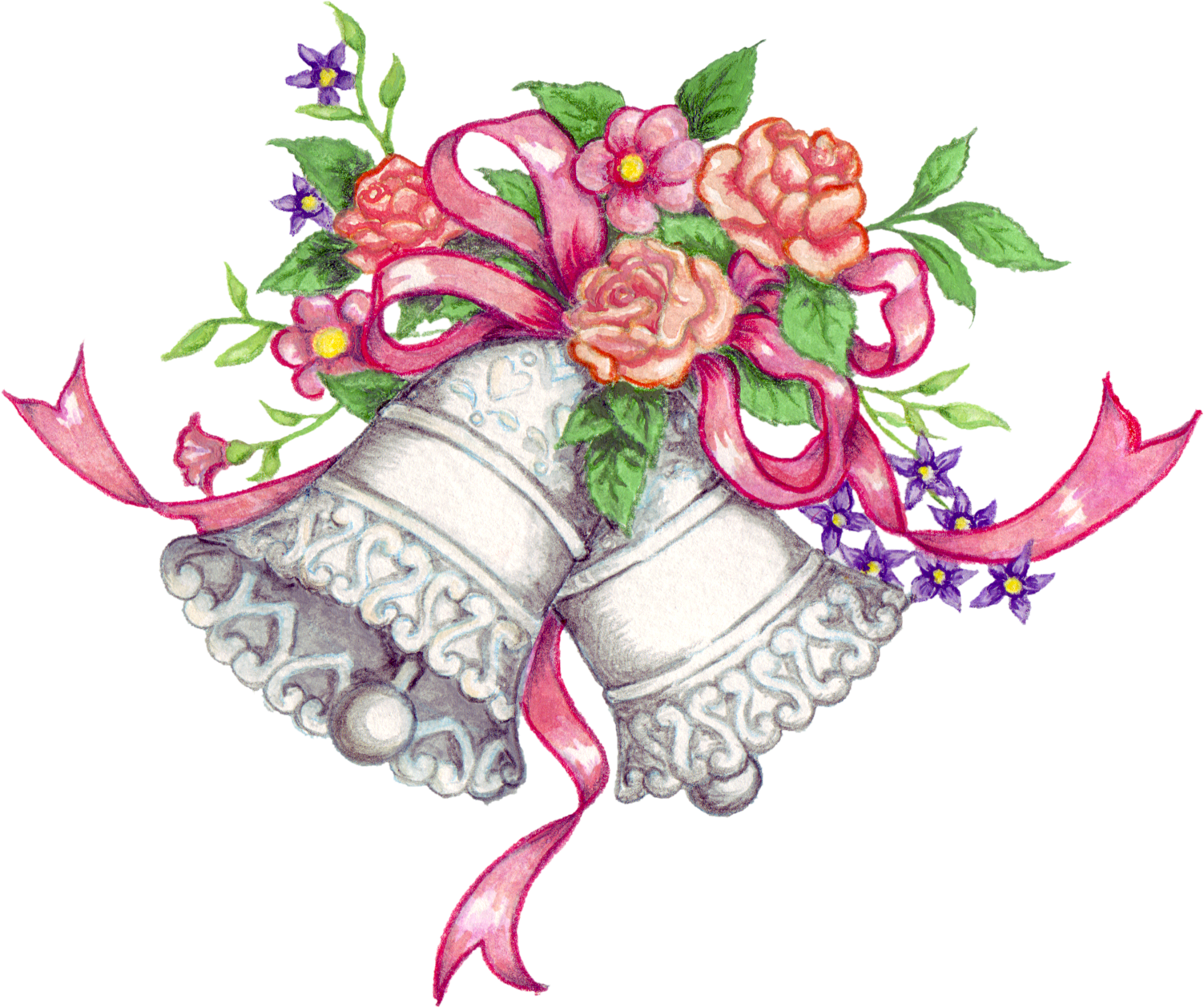 graphic stock Free transparent png files. Bells drawing marriage