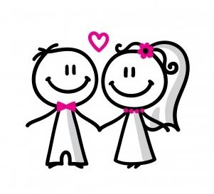 jpg freeuse library Wedding cartoon download best. Weddings free clipart cute.