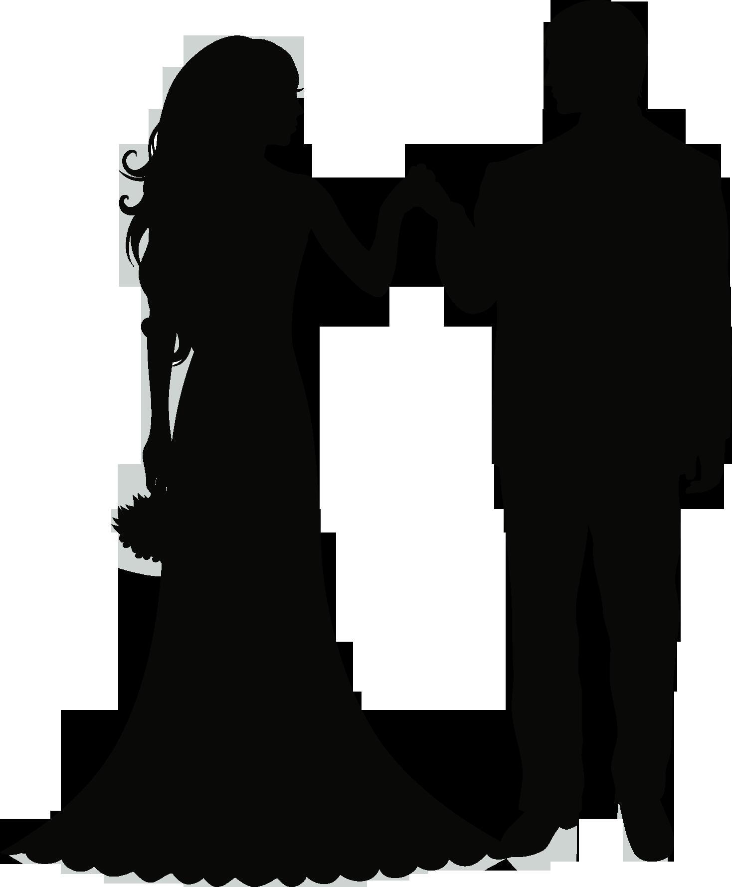 clip art black and white library  e d orig. Bridal clipart wedding artwork