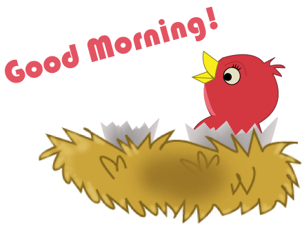 png royalty free Wednesday clipart. Good morning