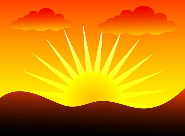 black and white library Png arts atmosphere blog. Weekend clipart sunrise sunset
