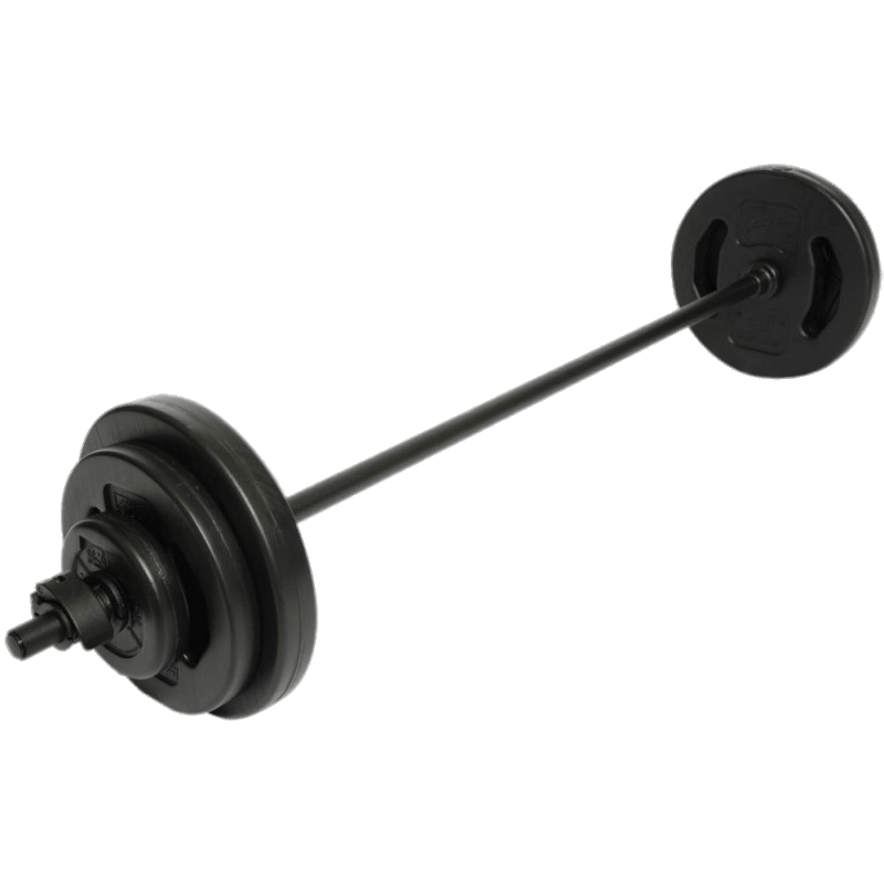 jpg black and white Bodypump Barbell transparent PNG