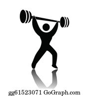 jpg library stock Weightlifting clipart. Clip art royalty free