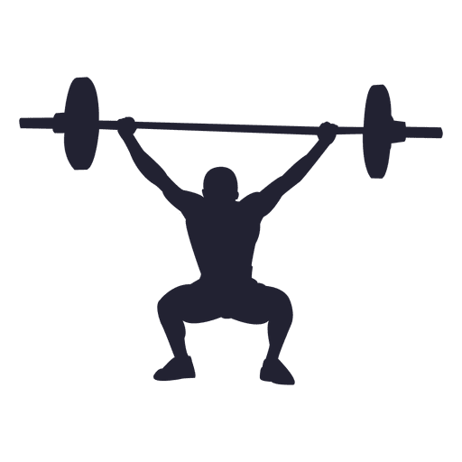 jpg royalty free library Weight lifting silhouette clip. Beyonce transparent powerlifting