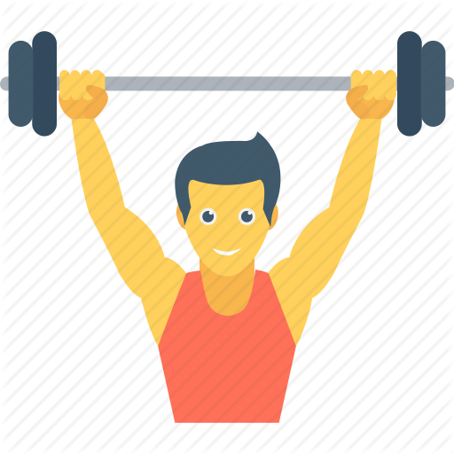 graphic black and white Fitness by vectors market. Weightlifting vector