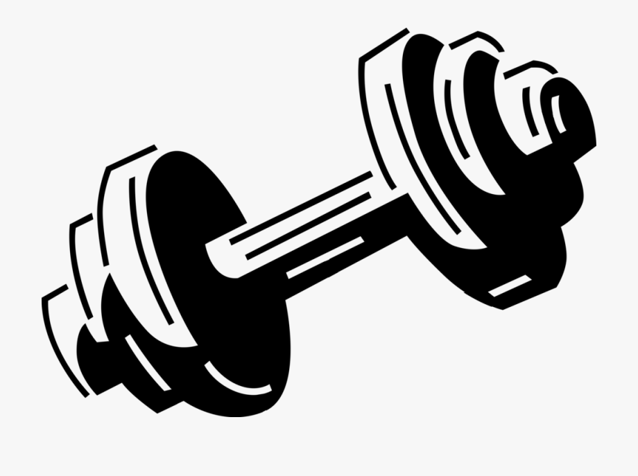 jpg library Png royalty free black. Weights clipart.