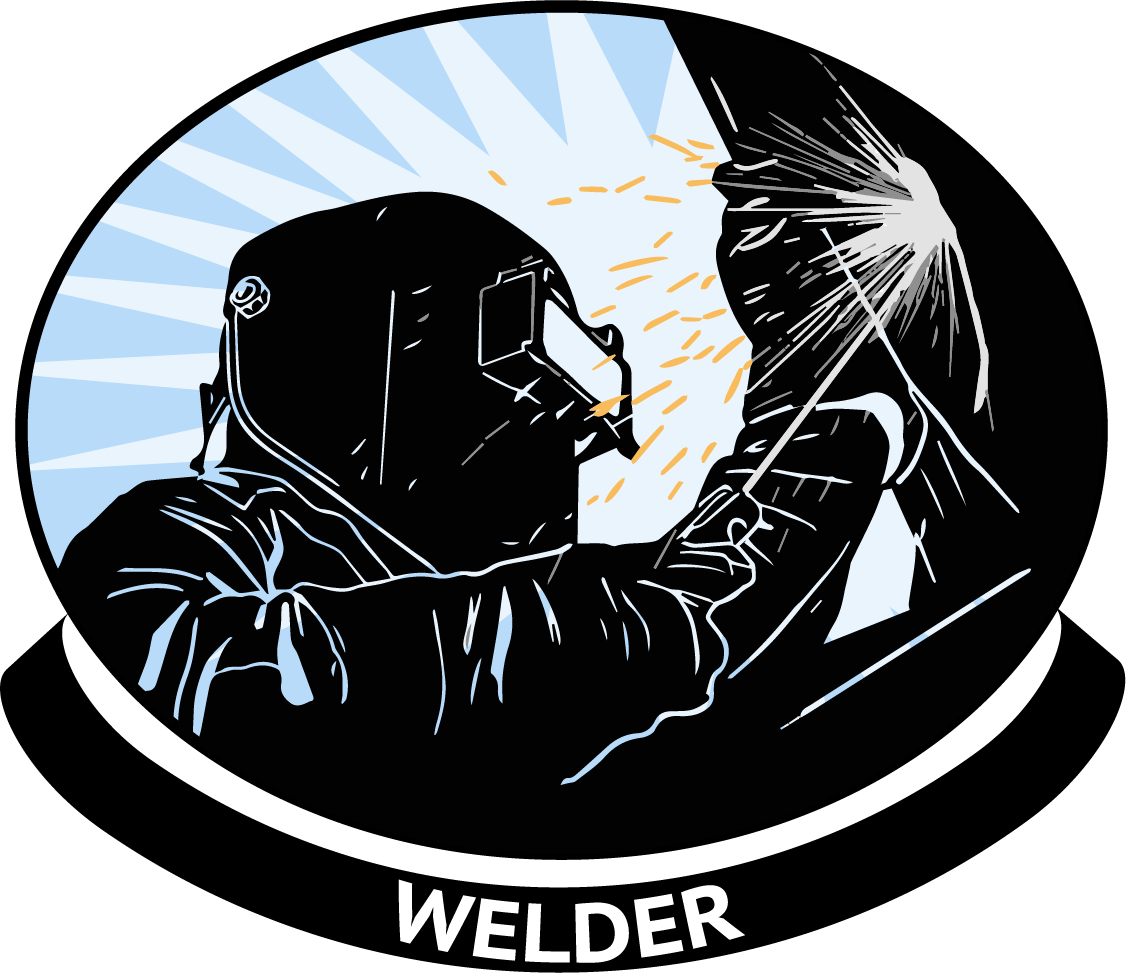 graphic royalty free Welding clipart. Welder pipe free on