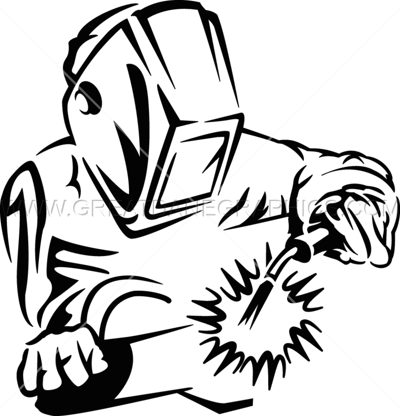 royalty free Black and white pencil. Trade clipart mig welding
