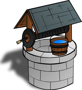 graphic library download Wishing Well Clip Art at Clker