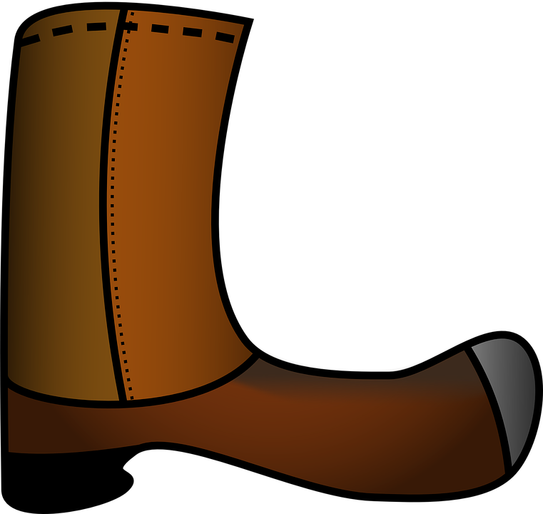 banner freeuse stock Western boot clipart. Rain boots free download