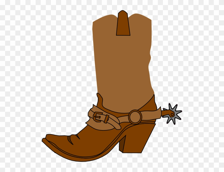 vector library stock Clip art boots cowboy. Western boot clipart