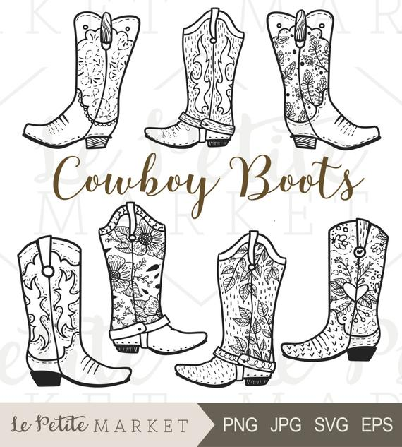 image royalty free download Cowboy boot clip art. Western boots clipart