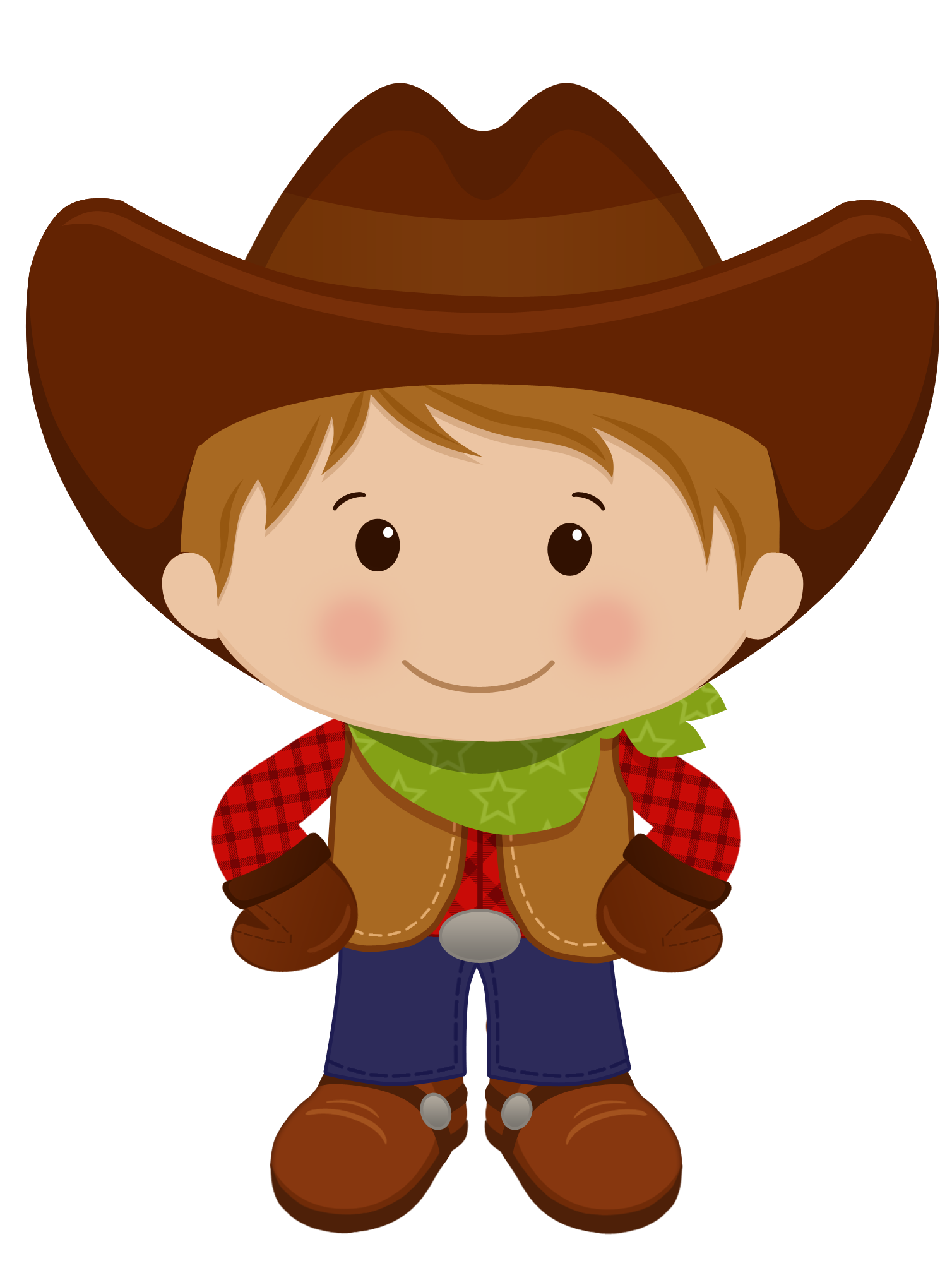 image black and white Western christmas clipart. Red haired cowboy cowgirl