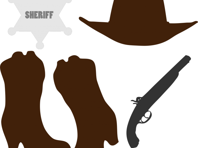 image free Wild west cowboy wanted. Western clipart