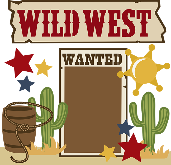 banner free Western town clipart. Wild west svg collection