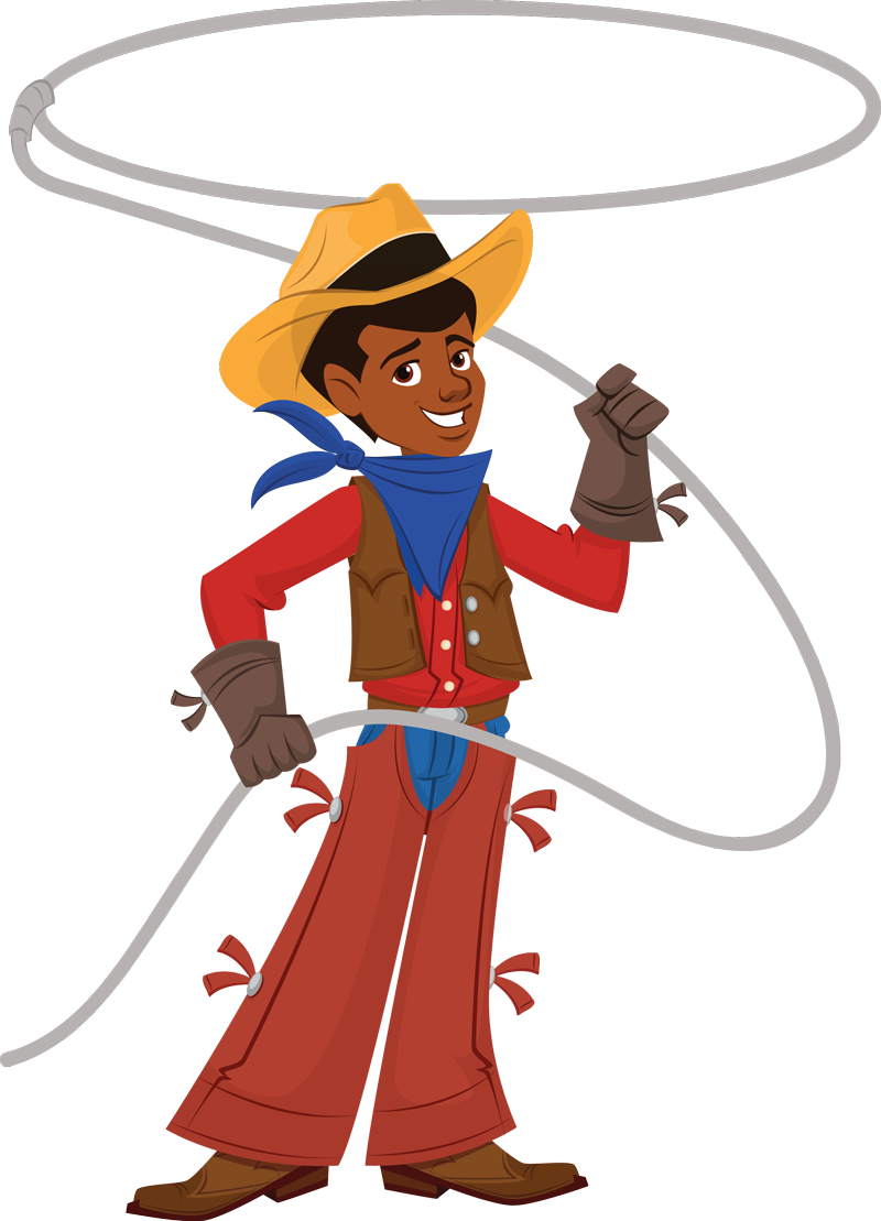 free western rodeo clipart #67096870