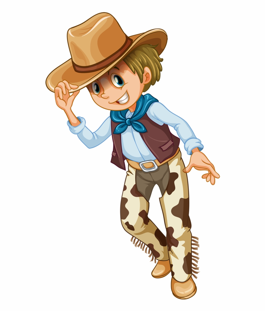 vector black and white library Western cowboys clipart. Cowboy logo themed vbs