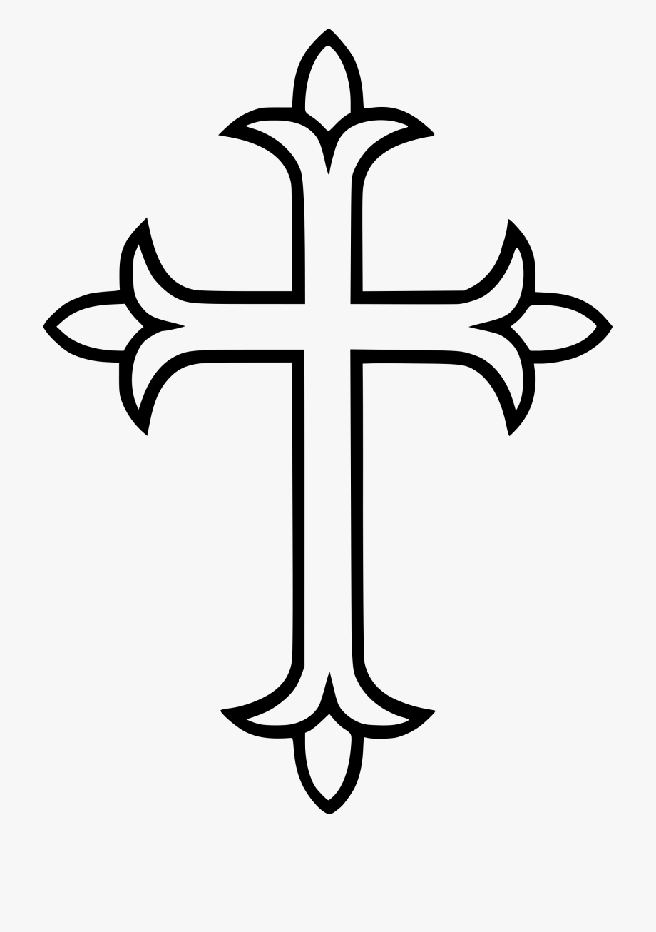 svg library Western cross clipart. Free download st thomas