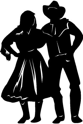 clip download Free country cliparts download. Western dance clipart.