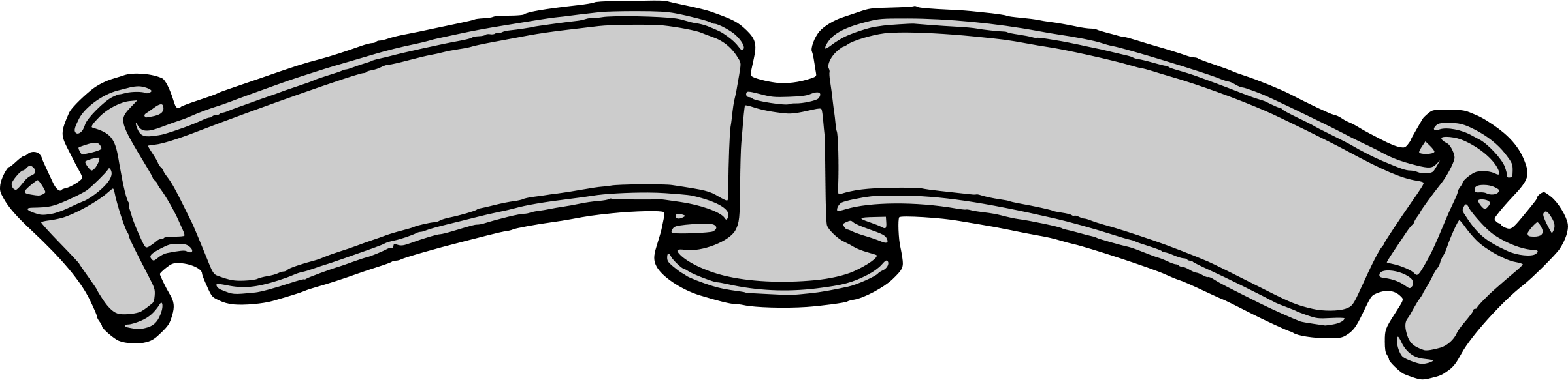 svg download Scroll banner bold clip. Western design clipart