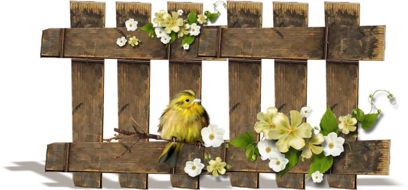 svg royalty free library Western fence clipart. Forgetmenot fences and birds