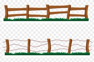 jpg transparent Western fence clipart. Portal