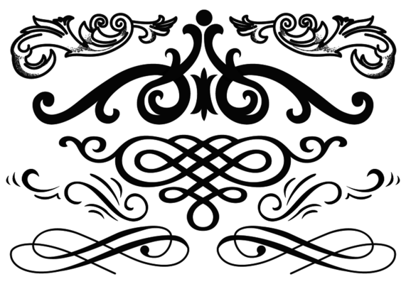 svg free download Western flourish clipart. Angier yearbook ideas vector