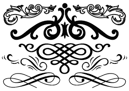 jpg freeuse stock Western flourish clipart. Image result for floral