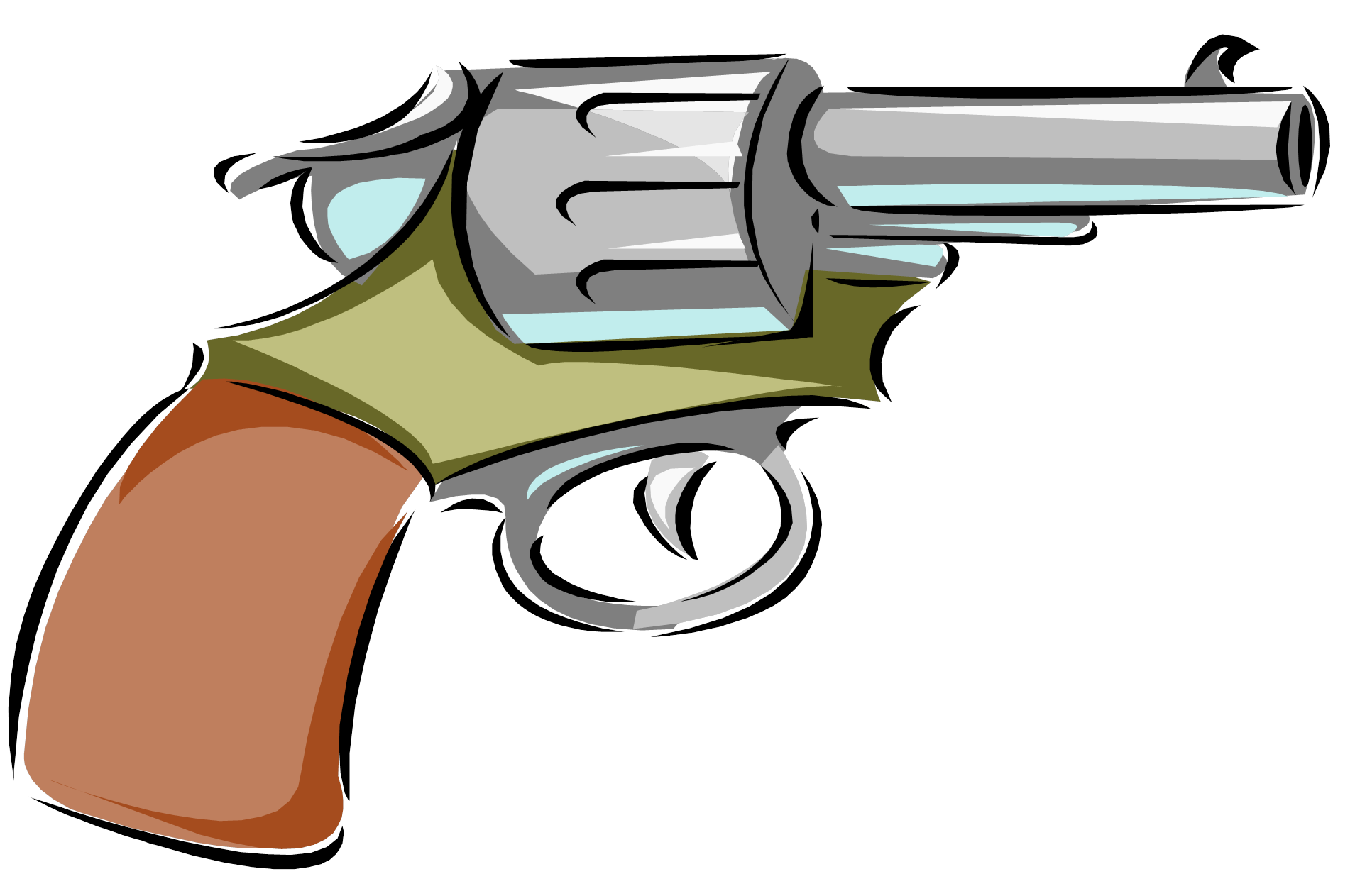 vector free library Cartoon group gun free. Western guns clipart