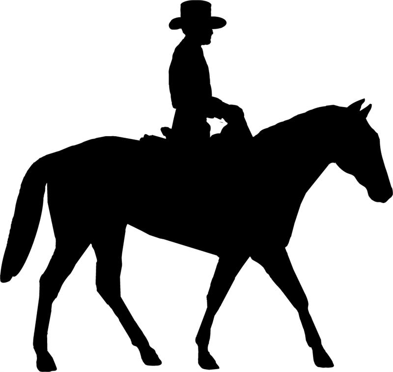 clip art royalty free library Western horse riding clipart. Free trail ride cliparts