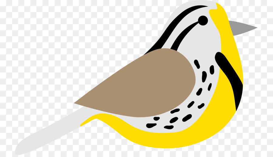jpg royalty free library Western meadowlark clipart. Bird line art illustration