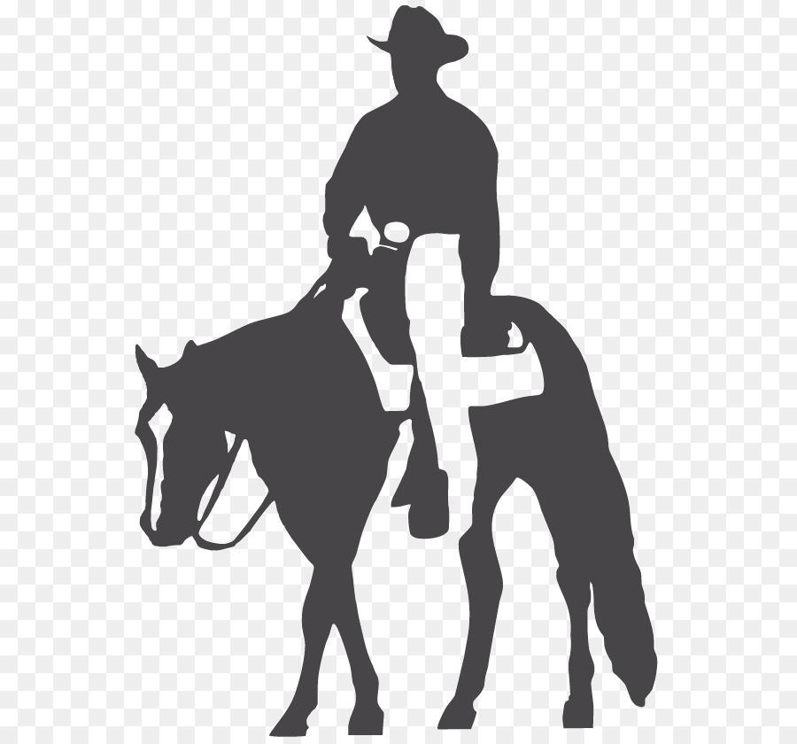 image transparent stock Cartoon equestrian silhouette . Western pleasure horse clipart