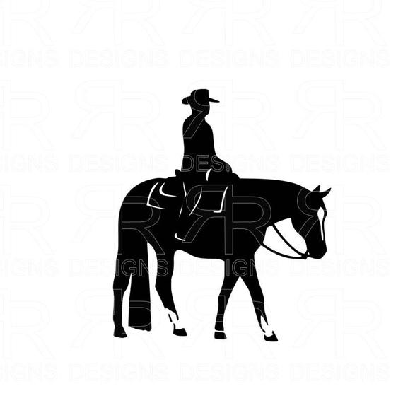 svg black and white stock Horsemanship quarter clip art. Western pleasure horse clipart