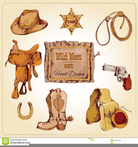 graphic freeuse Free images at clker. Western theme clipart
