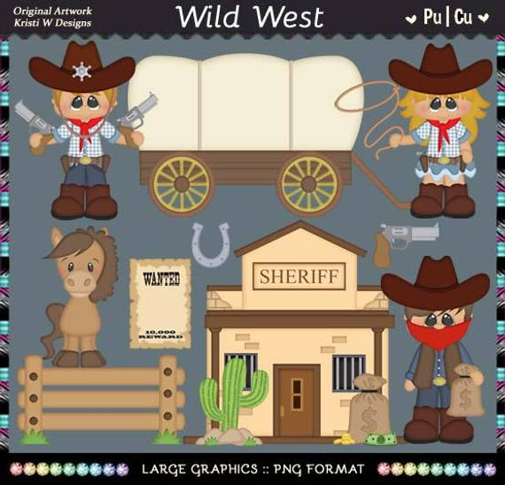 picture free library Wild west cowboy cowgirl. Western town clipart