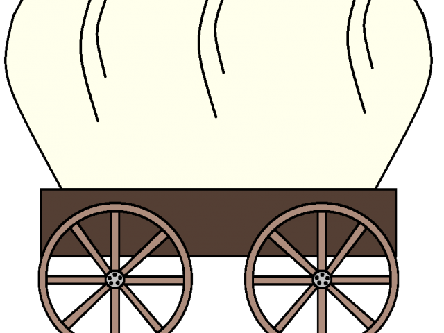 vector black and white download Western wagon clipart. Covered cliparts free download