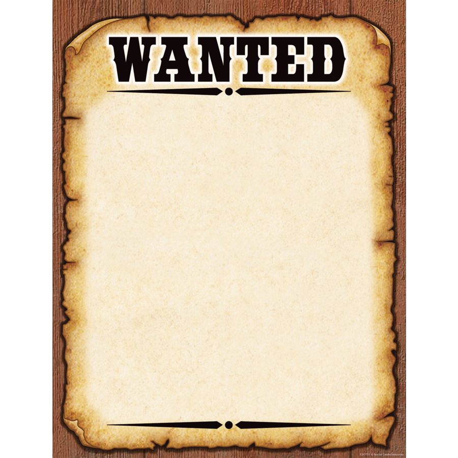 image library library Outline complete guide example. Western wanted poster clipart