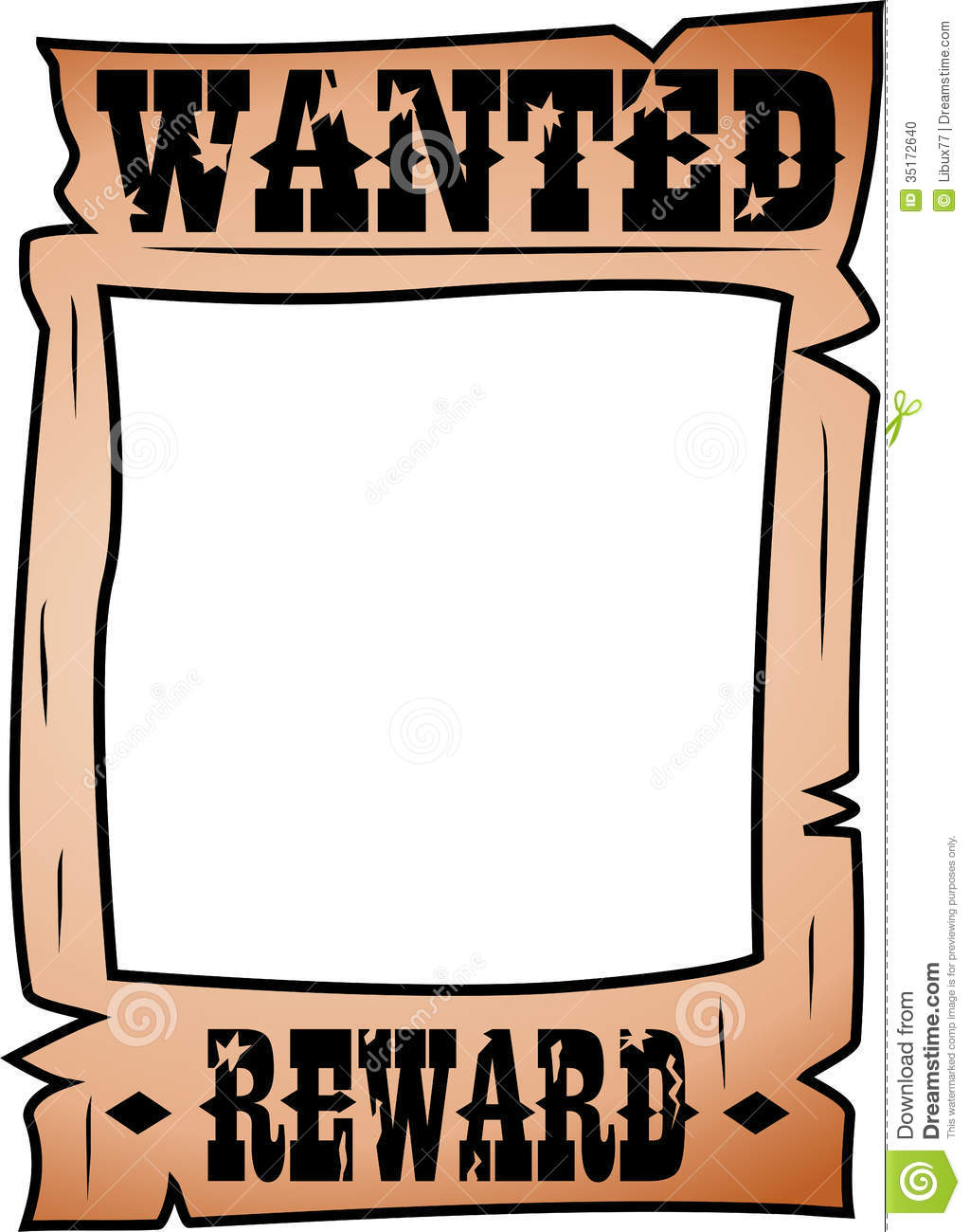 svg library stock Clip art look at. Western wanted poster clipart